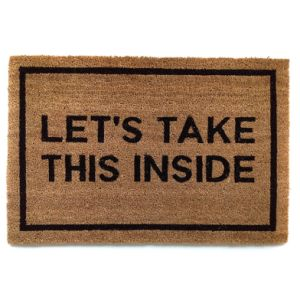 Outdoor Funny Humor Text Word Humorous Rude Fun Welcome Entrance Sublimation Printed/Printing Coco Coconut Fiber Coir Doormats pictures & photos