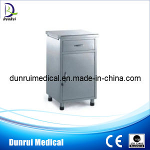 Bed Side Stainless Steel Cabinet (DR-367)