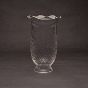 Hand Blown Cutting Texture Lighting Glass
