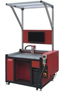 Visual Positioning CNC Glue Brushing Machine (TOP6080V)