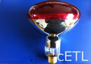 Red Clear Warm Light Hard Glass Infrared Heat Lamp