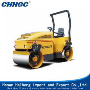 3t Hydraulic Drums Tandem Vibratory Roller for Sale