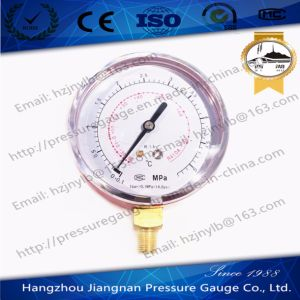 80mm 5.3MPa Refrigeration Pressure Gauge for R410A pictures & photos