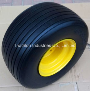 18X 8.50-8 Ribbed PU Foam Filled ATV Trailer Tire