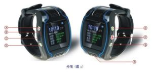 Smart GPS Tracker Watch with Location and Tracking System