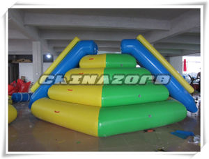 Hot Summer Recreation Water Games Inflatable Water Tower Slide