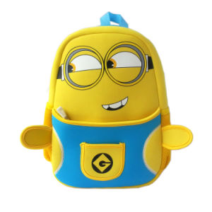 The Hottest Minions Figure Cute Cartoon Backpack for Children pictures & photos
