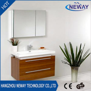 High Quality Melamine Wall Teak Bathroom Furniture pictures & photos