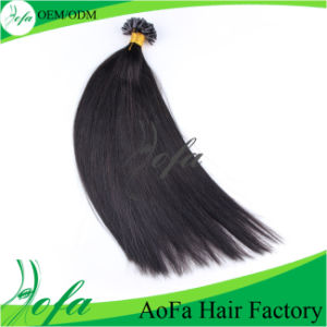 Best Quality 100% Remy Hair Black Human Hair Extensions pictures & photos