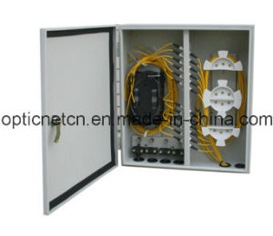 Metal Outdoor Fiber Optic Distribution Box Wall Mounting Enclosures pictures & photos