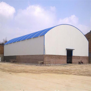 Roof Covering Light Steel Structure Building pictures & photos