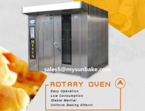 Bakery Equipments Gas Power Source Rotary Rack Oven CE Certificate