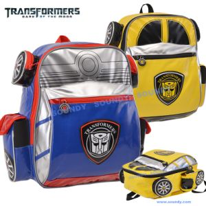 Transformer Car Shape Backpack / School Bag