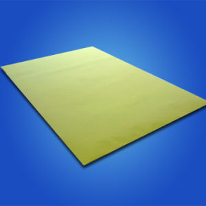 Yellow Fluorescent Sticker Paper