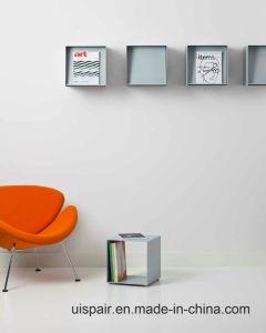 newspaper rack for office. Uispair 100% Steel Square Book Newspaper Magazine Rack For Office Home School Decoration S