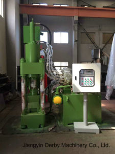 Briquetters Automatic Aluminum Iron Metal Scrap Hydraulic Briquette Recycling Machine- (SBJ-250B) pictures & photos
