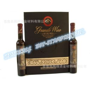 Hot Stamping Foil for Wine Box pictures & photos