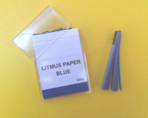 Universal Neutral pH Test Strips Litmus Blue Test Paper/Red Litmus Paper pictures & photos