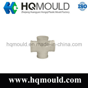 Plastic Injection Pipe Fitting Cross Mould pictures & photos