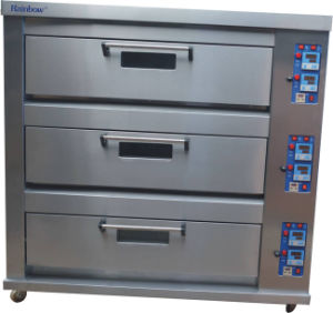 Low Electricity Consumition Deck Oven (QDR-312B)