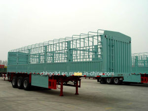 Stake Fence Bulk Cargo Transport Semi Trailer for Sale
