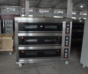 Best Offer for 3 Deck 9 Trays Deck Oven