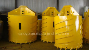 Rotary Drilling Rig Accessories Rock Bucket Tool pictures & photos