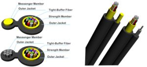 Gjyc8h Slef-Supported Tight Buffer Round Drop Cable for FTTH pictures & photos