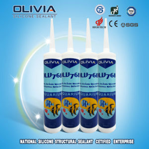 Acetic Big Glass Silicone Glazing Sealant 100% Silicon Olv768 pictures & photos
