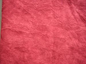 Wrinkling Suede Fabric for Garment pictures & photos