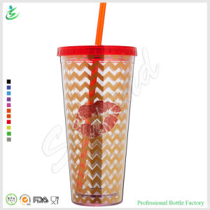 32oz Huge Plastic Tumbler with Straw Quality Guaranteed (TB-A1-6) pictures & photos