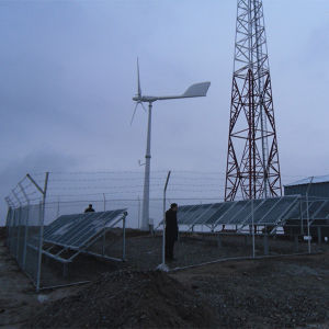 Ane Wind Turbine Solar Generator for Mobile Communication Station Power Supply Solution Plan pictures & photos