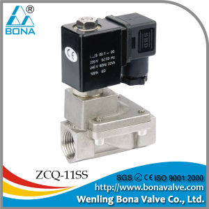 Bona Zcq-11ss Pilot Guide 1inch Stainless Steel Solenoid Valve pictures & photos