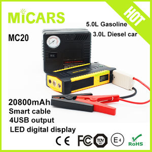 20800mAh Upgrade Top Power Car Battery Charger Mini Jump Starter