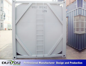 Hazardous Waste, Foodstuffs and Beverages, ISO Steel Tank Container