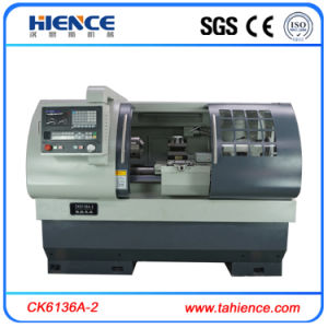 2 Axis Flat Bed Tool Turret Automatic CNC Lathe Ck6136A-2 pictures & photos