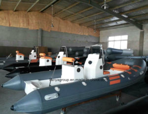 Liya 2.4-5.2m Fiberglass Rib Boat Rigid Inflatable Boat pictures & photos