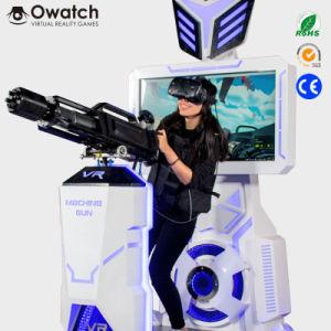 fa9dc60e1e37 Virtual Reality Machine Shooting Game Machine Vr Machine Gun War Gatling  Simulator