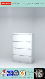 Four Drawers environmental Laterial Filing Cabinet Wholesale Japan Market