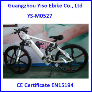 MTB Mountain Electric Bike with 700c Full Suspension pictures & photos