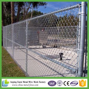 Professional Produce PVC Coating Chain Link Fence for Stadium