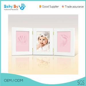 China Baby Souvenir Clay Handprint Footprint Baby Keepsake Three