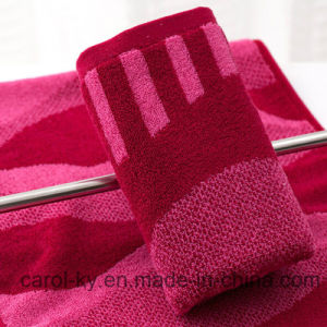 Cotton Yarn Dyed Bath Towel pictures & photos