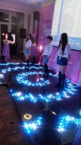 2017 RoHS Ce Certification Wide Application LED Digital LED Dance Floor pictures & photos