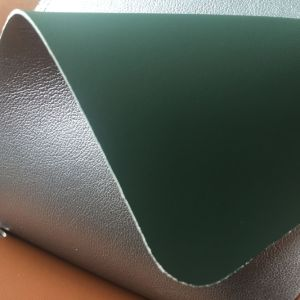 Two Side PU Leather for Making Bags Totes pictures & photos