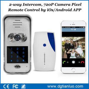 China Smart Phone APP Remote Control 720p Camera WiFi Video Doorbell