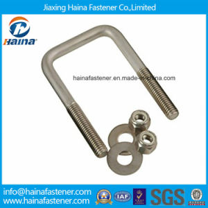 High Quality Hot DIP Galvanized Square Head U Bolt M6 M8 Customized Made pictures & photos