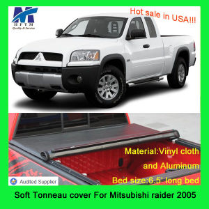 100% Fitment Lund Tonneau Cover for Mitsubishi Raider 2005 6.5 pictures & photos