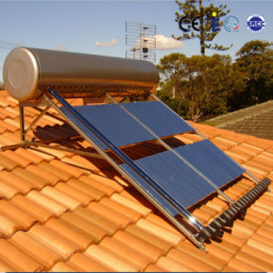 Slope Roof Mounted Pressurized Heat Pipe Solar Geyser pictures & photos