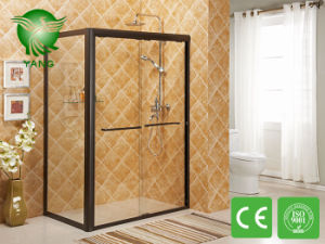 Free Standing Glass Shower Enclosure, Simple Shower Room